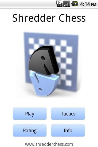 Скачать шахматы для Андроид: Shredder Chess