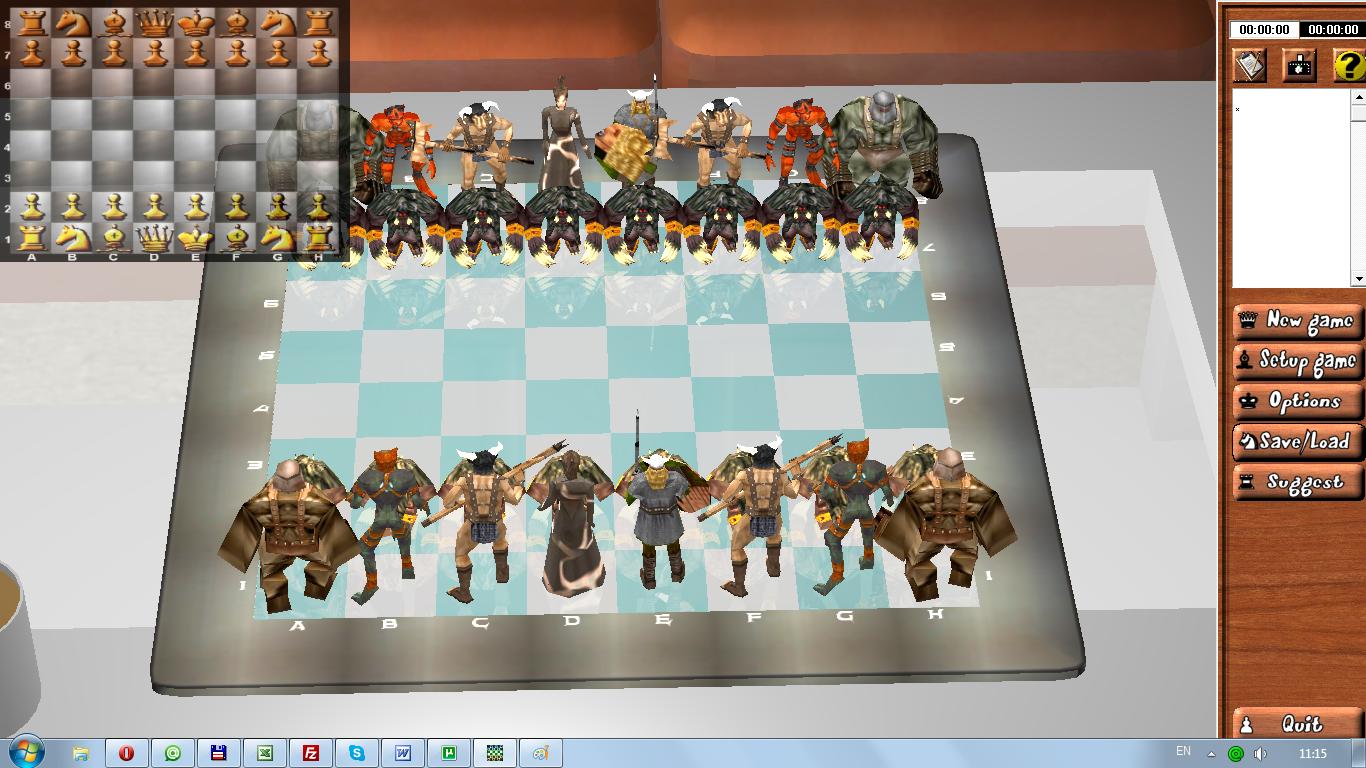 Скачать бесплатно шахматы Chess3D