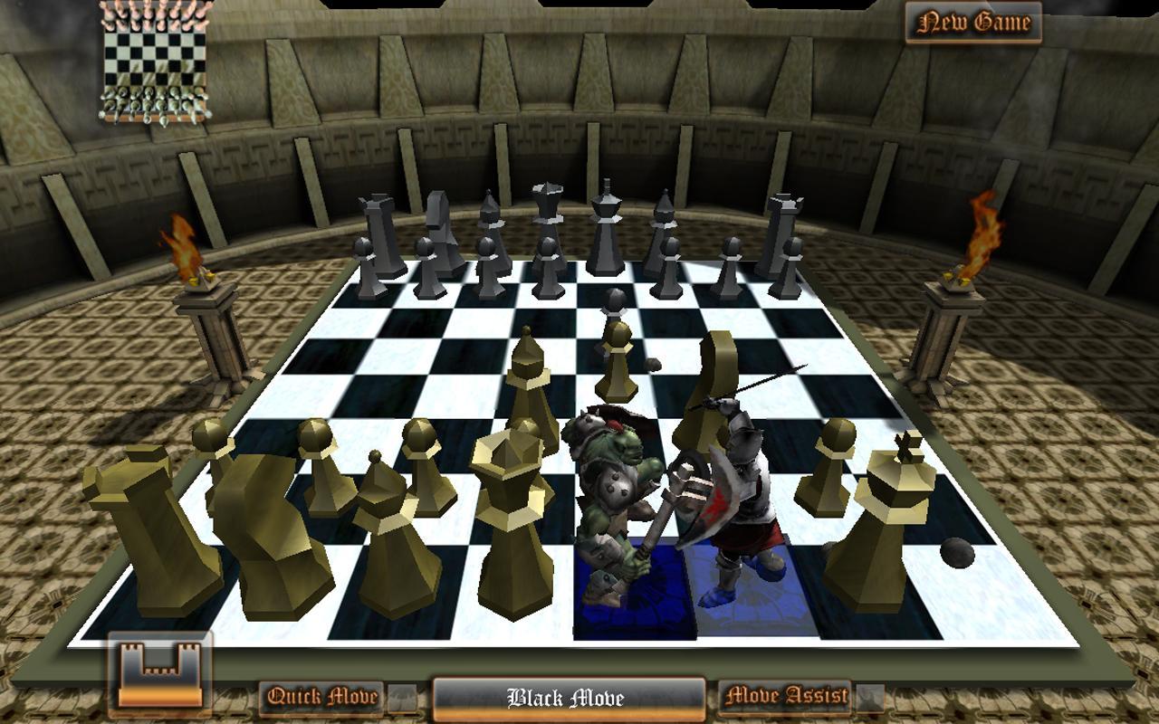 Скачать шахматы для Андроид: Morph Chess 3D