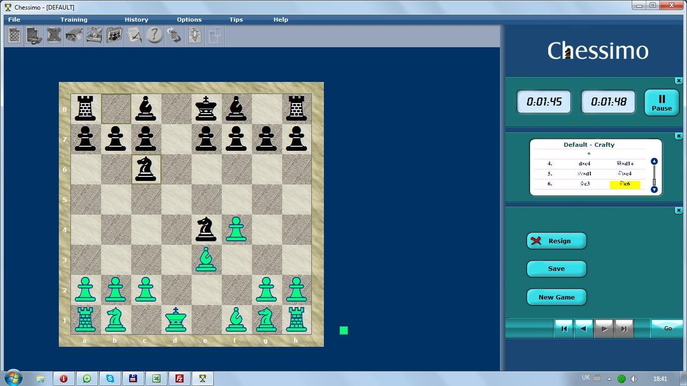 Скачать онлайн шахматы Chessimo