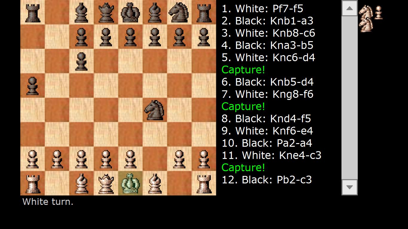 Игра с компьютером в шахматы бесплатно