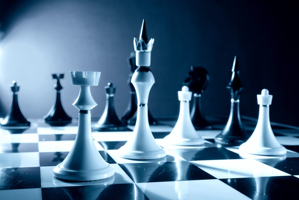 Шахматы фото фигуры 7