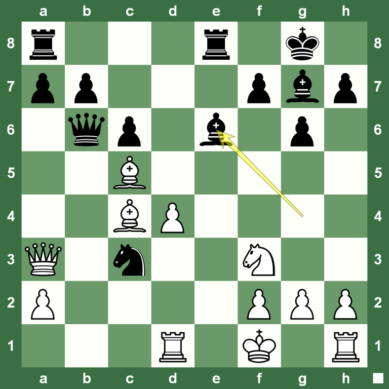 Ходы в шахматах: как ходит офицер