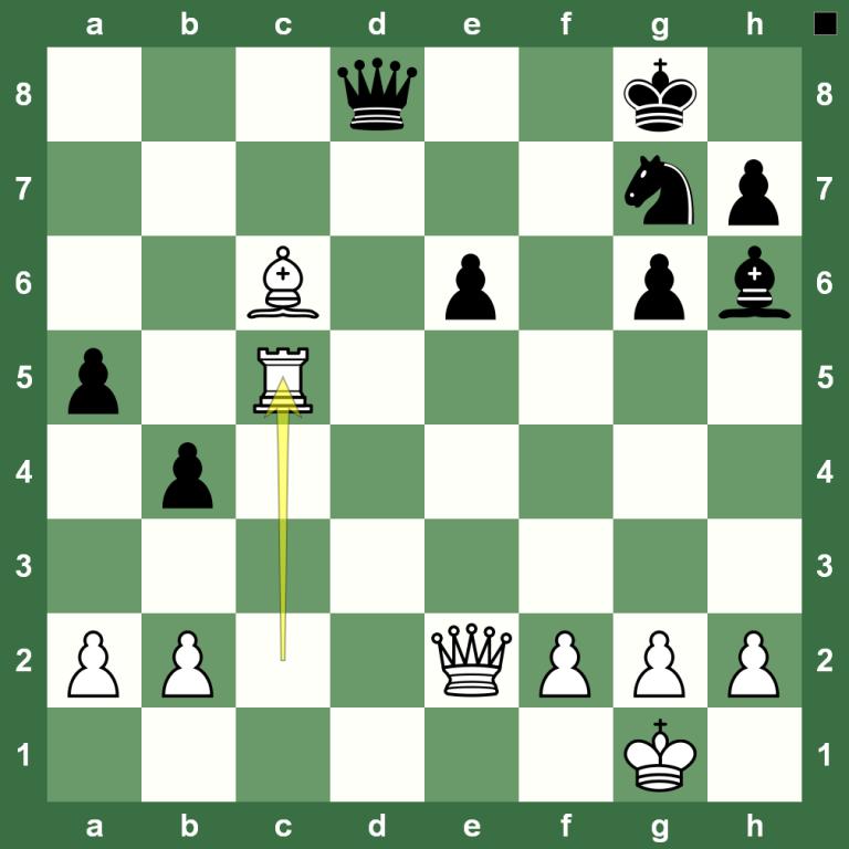 Ходы в шахматах: как ходит тура