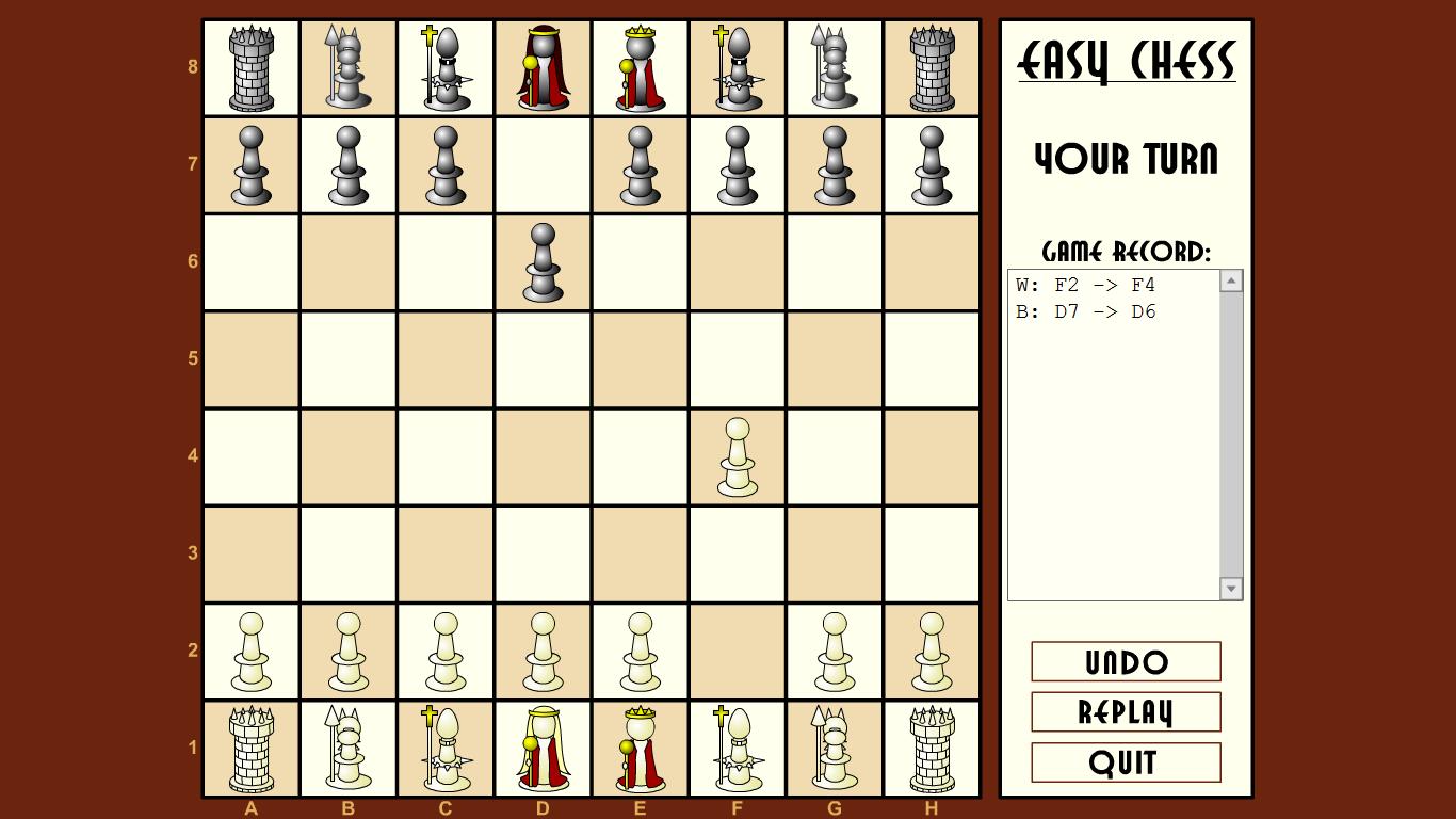 Как сыграть в шахматы с компьютером