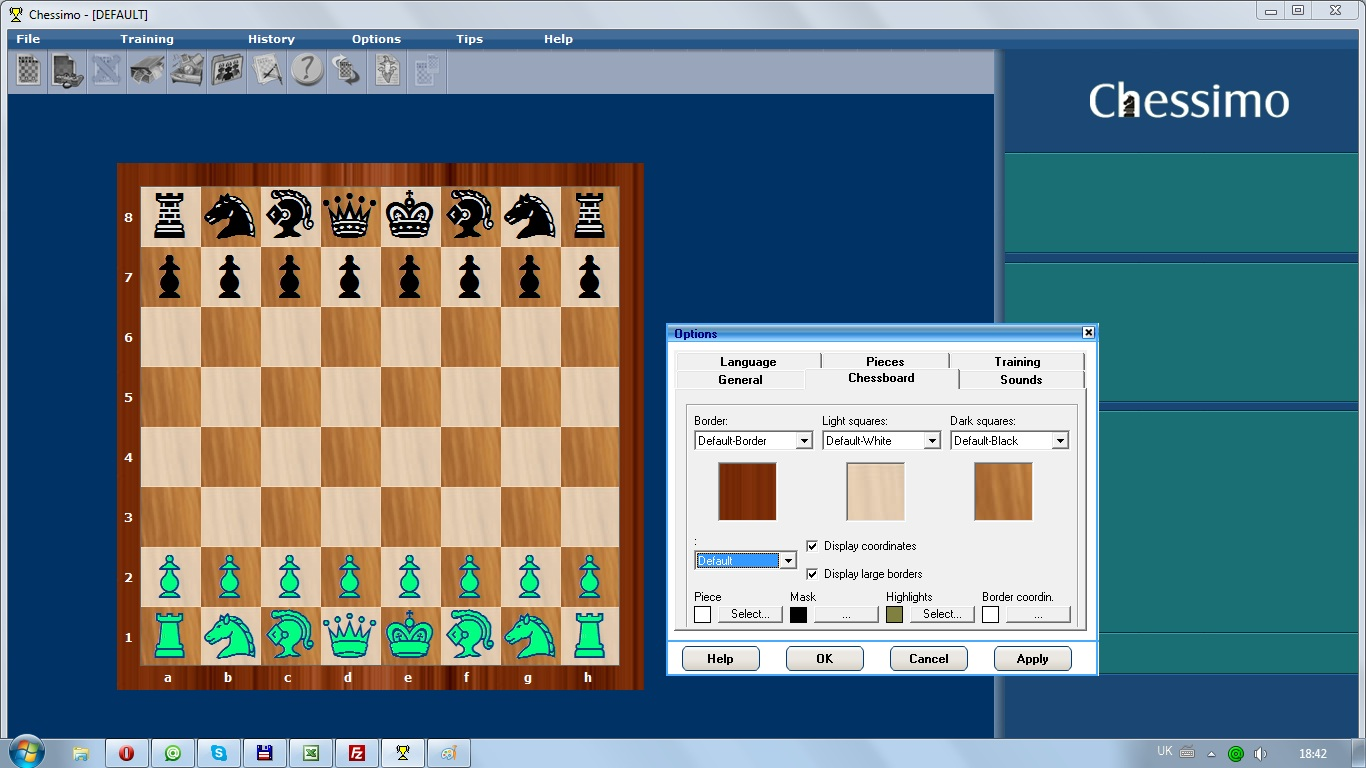 Скачать шахматную игру Chessimo